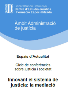 GEMME Conferencia Mediacion en Barcelona
