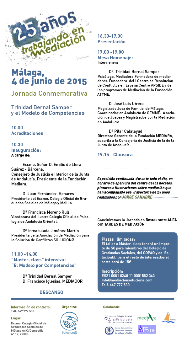 Programa Malaga 4 de junio