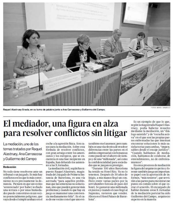 Jornadas Arquitectos en Almeria recorte