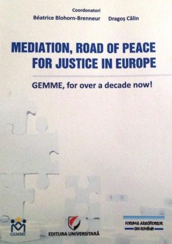 Mediación, el camino de paz para la justicia en Europa