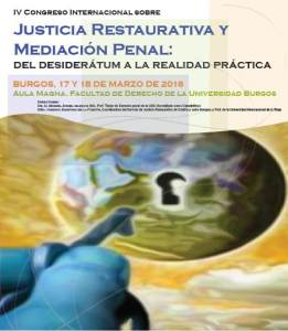 Congreso Justicia Restaurativa Burgos 2016