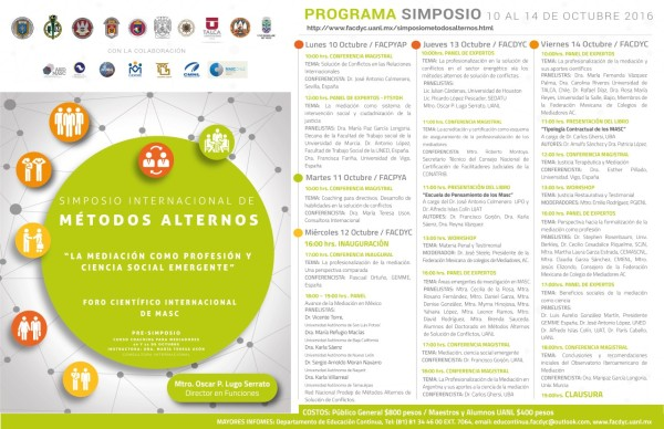 Poster Programa Monterrye