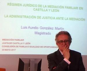 Luis Aurelio Gonzalez, magistrado y presidente de GEMME