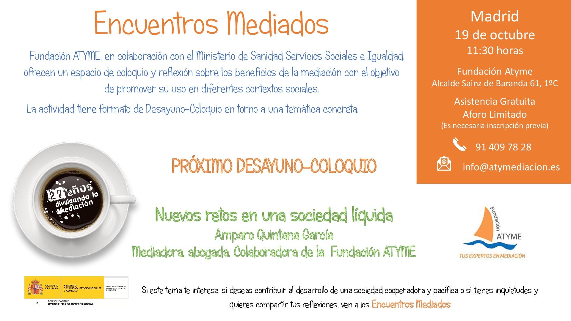 Encuentro Mediado 19 octubre