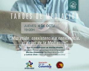 Tardes de Mediacion 4Octubre18