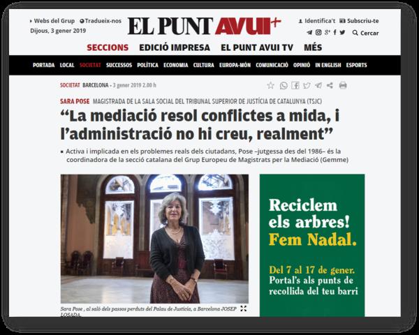 2019 01 03 El Punt SaraPose